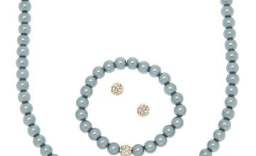 Go to Product: Pearl Jewellery Set - Silver, 3 Pack
