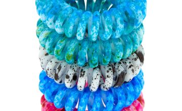 Go to Product: Paint Splatter Spiral Hair Bobbles - 5 Pack