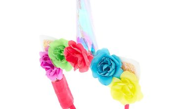Go to Product: Light Up Rainbow Unicorn Flower Headband