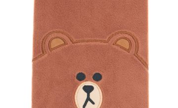Go to Product: LINE FRIENDS© Brown A5 Plush Notebook – Brown