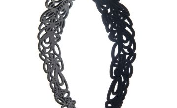 Go to Product: Velvet Filigree Headband - Black