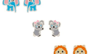 Go to Product: Sterling Silver Zoo Party Stud Earrings - 3 Pack