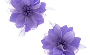 Go to Product: Lavender Feather Flower Hair Clips