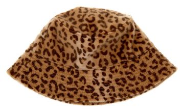 Go to Product: Fuzzy Leopard Print Bucket Hat