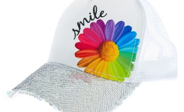 Go to Product: Daisy Smile Baseball Cap - White