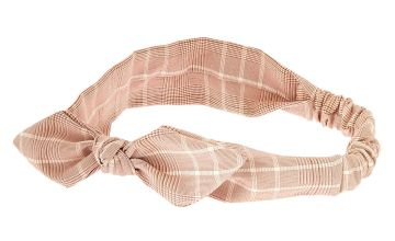 Go to Product: Classic Plaid Knotted Bow Headwrap - Pink