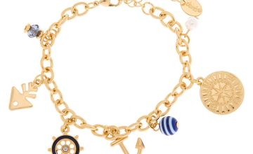 Go to Product: Gold Nautical Charm Bracelet