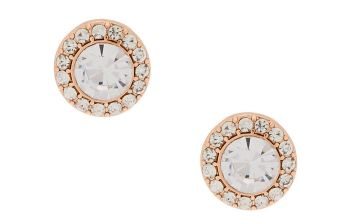 Go to Product: Rose Gold Crystal Stud Earrings