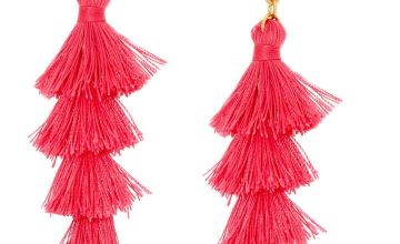 Go to Product: Pink Tiered Tassel Drop Earrings