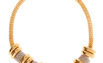 Go to Product: Gold Glitter Ring Chain Bracelet - Silver
