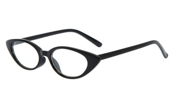 Go to Product: Cat Eye Clear Lens Frames - Black