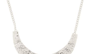 Go to Product: Silver Geometric Statement Necklace