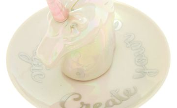 Go to Product: Ceramic Unicorn Jewellery Holder Tray - White