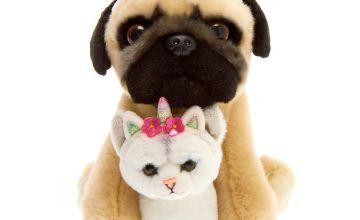 Go to Product: Doug the Pug™ & Fiona Medium BFF Plush Toy Set