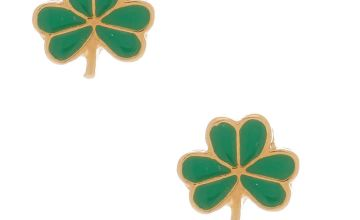 Go to Product: 18kt Gold Plated Shamrock Stud Earrings