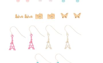 Go to Product: Paris Romance Mixed Earrings - 9 Pack