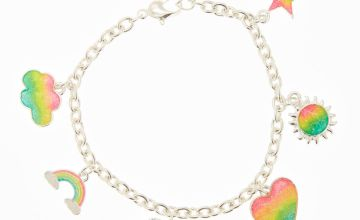 Go to Product: Rainbow Glitter Charm Bracelet