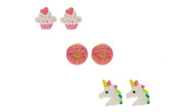 Go to Product: Glitter Unicorn & Treat Stud Earrings