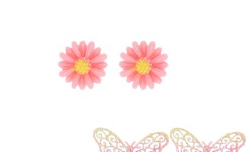 Go to Product: Ombre Butterfly Stud Earrings - 3 Pack