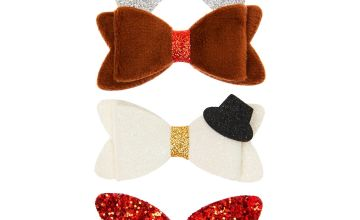 Go to Product: Christmas Hair Bow Clips - 3 Pack