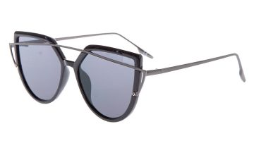 Go to Product: Brow Bar Aviator Wing Sunglasses - Black