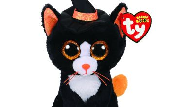 Go to Product: Ty Beanie Boo Small Witchie the Cat Soft Toy