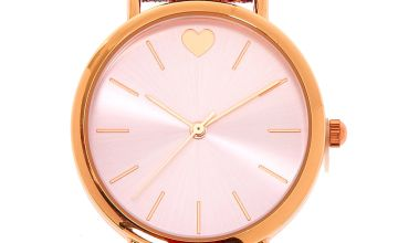 Go to Product: Rose Gold Glitter Classic Watch
