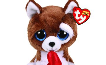 Go to Product: Ty Beanie Boo Small Smooches the Dog Soft Toy