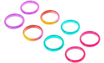 Go to Product: 8 Pack Multi-Coloured Anodized Rings