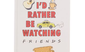 Go to Product: FRIENDS™ I'd rather be watching F.R.I.E.N.D.S notebook – White