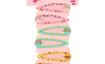 Go to Product: Claire's Club Magical Watermelon Snap Hair Clips - 6 Pack