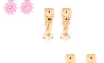 Go to Product: Gold Bunny Hop Clip On Earrings - 3 Pack