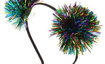 Go to Product: Rainbow Tinsel New Years Eve Headband