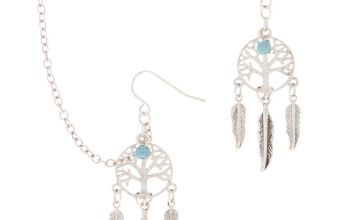 Go to Product: Silver Dreamcatcher Connector Earrings