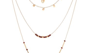 Go to Product: Gold Island Hopper Multi Strand Necklace