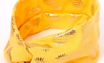 Go to Product: Metallic Pineapple Twisted Headwrap - Orange