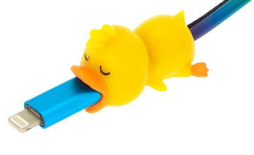 Go to Product: Duck Cable Critter - Yellow