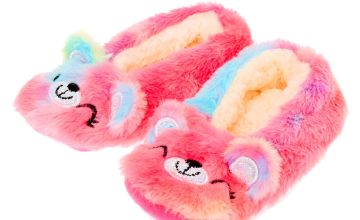 Go to Product: Sugar the Bear Rainbow Slippers