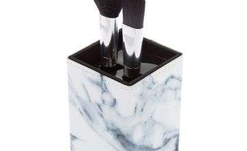 Go to Product: Marble Makeup Brush Set - Black, 2 Pack