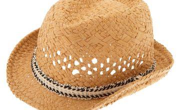 Go to Product: Fringe Fedora Hat - Black