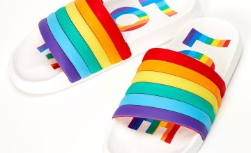 Go to Product: Rainbow Love Slide Sandals