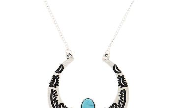 Go to Product: Silver Crescent Moon Long Pendant Necklace