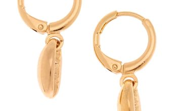 Go to Product: Gold 10MM Cowrie Shell Huggie Hoop Earrings