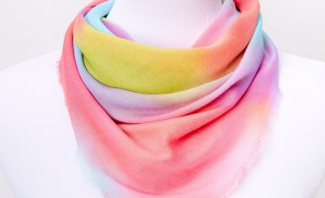 Go to Product: Square Rainbow Tie Dye Fashion Scarf