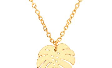 Go to Product: Gold Palm Leaf Pendant Necklace