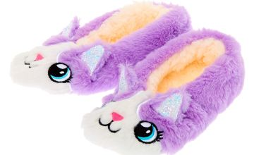 Go to Product: Carly the Cat Slippers - Purple