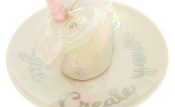 Go to Product: Ceramic Unicorn Jewellery Holder Tray - White