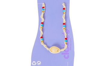 Go to Product: Blue, Red, & Gold Beaded Hemp Cowrie Shell Anklet