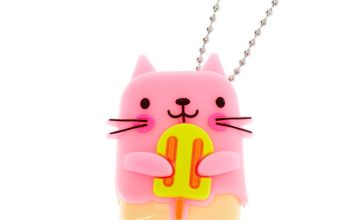 Go to Product: Pucker Pops Popsicle Cat Lip Gloss - Strawberry Lemonade