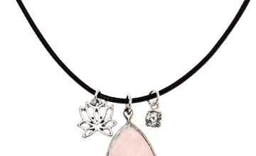 Go to Product: Rose Quartz Teardrop Pendant Necklace